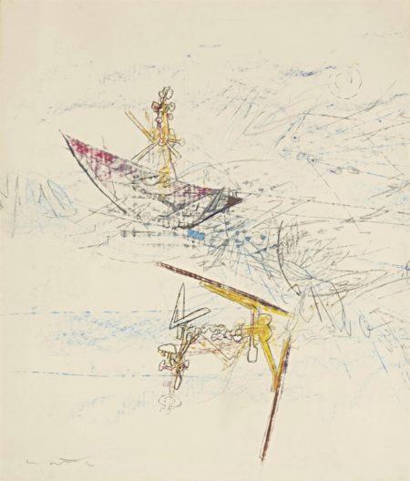 Roberto Matta-Composition-1959