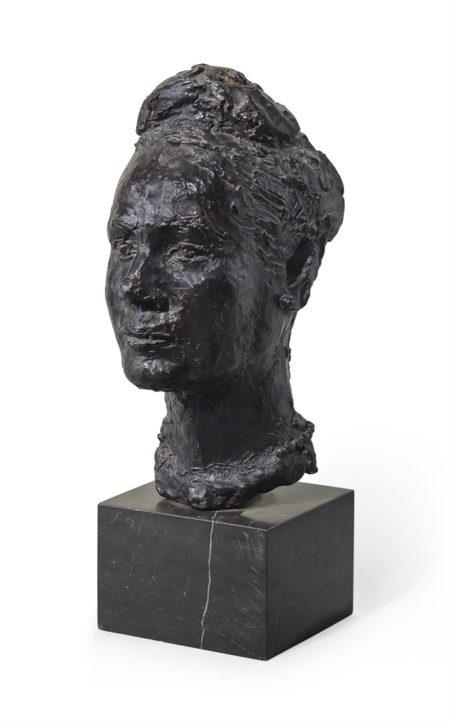 Germaine Richier-Portrait de Madame G.H.-1942