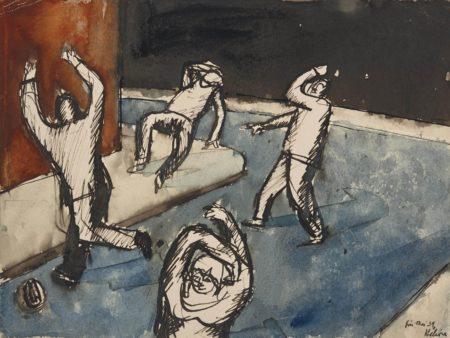 Jean Helion-Scene de terreur-1939
