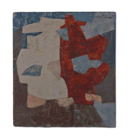 Serge Poliakoff-Composition abstraite-1949