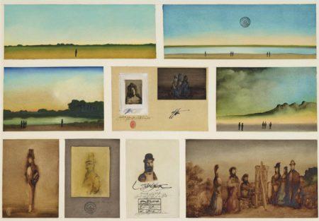 Saul Steinberg-Vie d'artiste-1970
