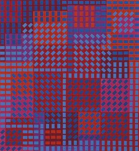 Victor Vasarely-Sans titre-