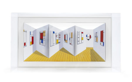 Patrick Hughes-Mondrians-1998