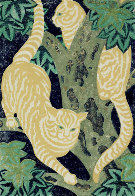 Eileen Mayo-Cats in the trees-1931