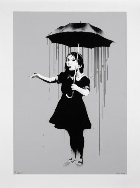 Banksy-Nola (Grey Rain)-2008