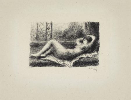 Pierre-Auguste Renoir-Odalisque-1904