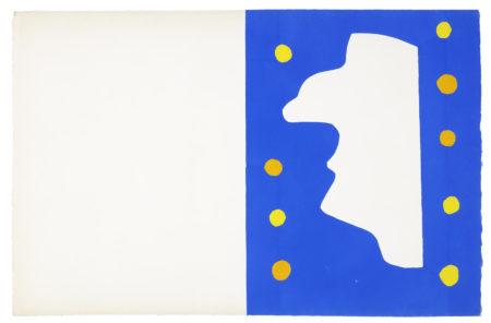 Henri Matisse-Monsieur Loyal, from Jazz-1947