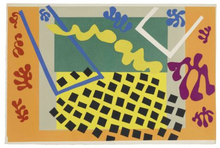 Henri Matisse-Les Codomas, from Jazz-1947