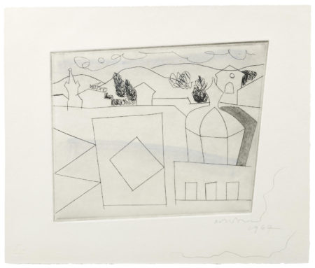 Ben Nicholson-Lucca (Small Version)-1967