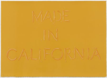 Ed Ruscha-Made in California-1971