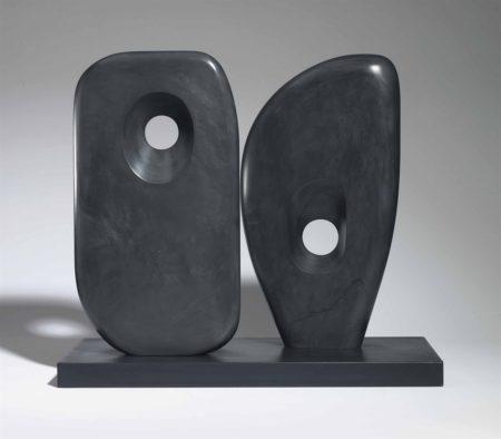 Barbara Hepworth-Two Forms in Echelon-1963