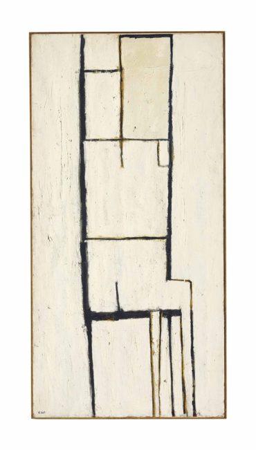William Scott-Seated Figure no. 1-1954