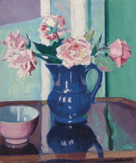 Francis Campbell Boileau Cadell-Roses-1925