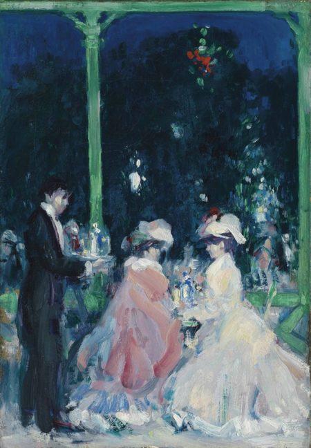 John Duncan Fergusson-La Terasse, Le Touquet Casino: Night-1905