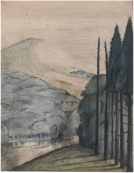 Paul Nash-A Dawn-1913