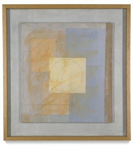 Ben Nicholson-June 1963 (Lilac-Blue)-1963