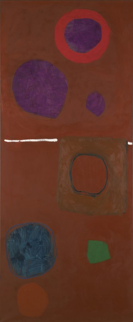 Patrick Heron-Tall Venetian: October 1962-1962
