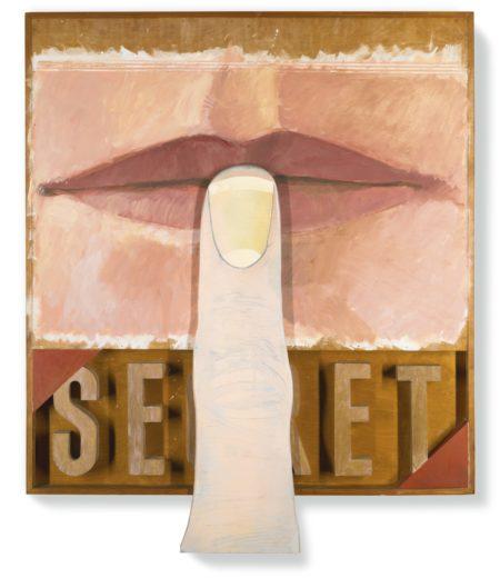 Joe Tilson-Secret-1963
