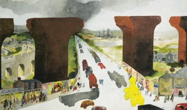 Edward Burra-The Old Viaduct-1970