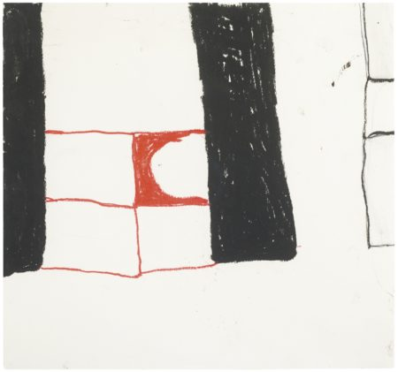 William Scott-Abstract Composition-1964