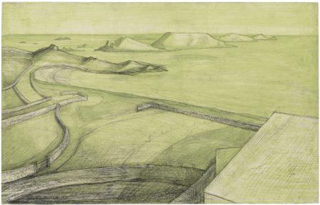 Wilhelmina Barns-Graham-Coastal Study-1951
