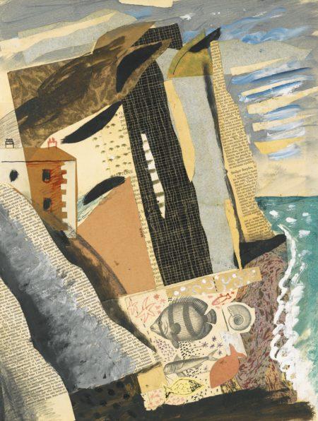 John Piper-Beach II-1934