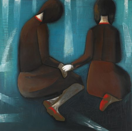 Charles Blackman-Two Friends-1961