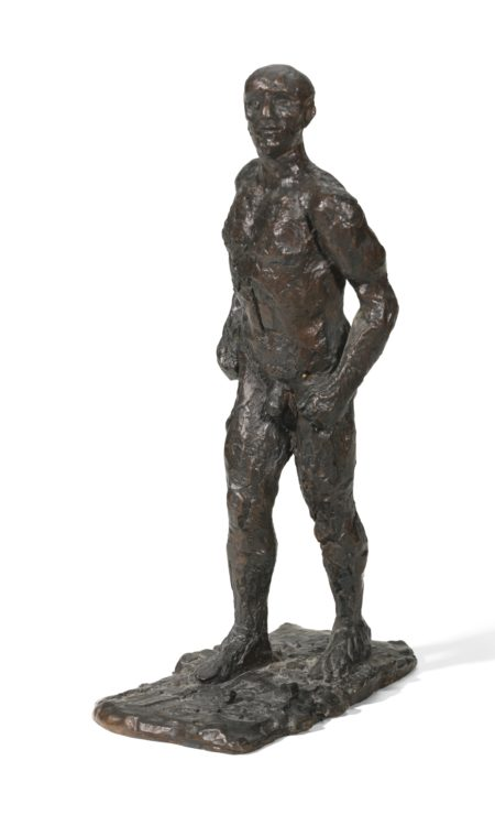 Elisabeth Frink-Small Male Figure-1986