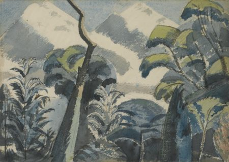 Paul Nash-Trees-1922