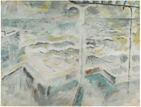 David Jones-Balcony And Seascape-1929