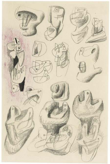 Henry Moore-Ideas For Sculpture, 1937-1937