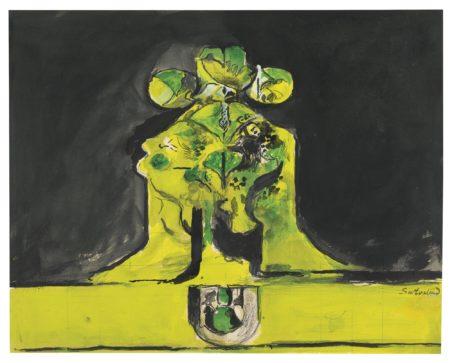Graham Sutherland-Rock With Three Heads II-1973