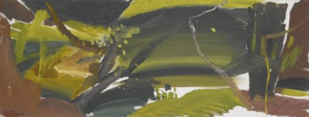 Ivon Hitchens-Shaded Trout Stream-1950