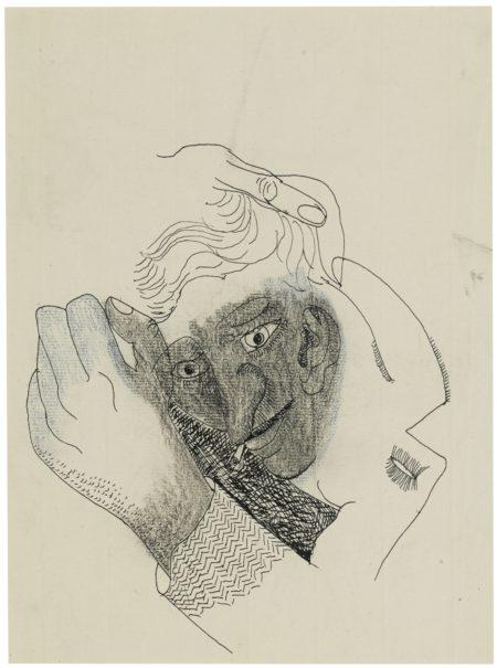 Lucian Freud-Portrait Of John Craxton-