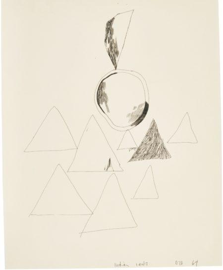 David Hockney-Indian Tents-1964