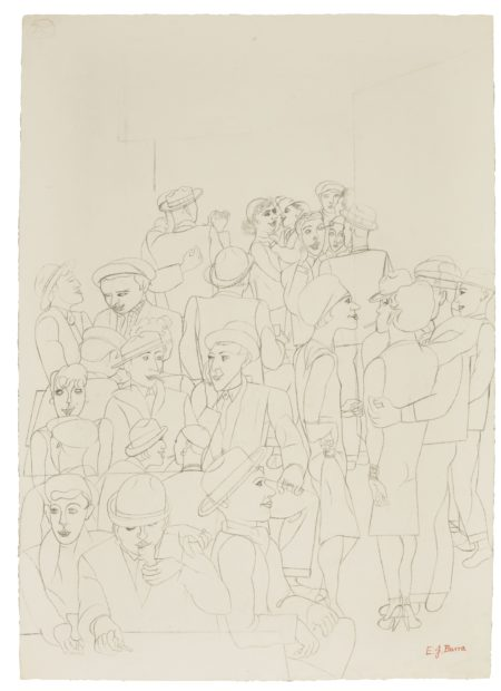Edward Burra-Bal Musette-1931