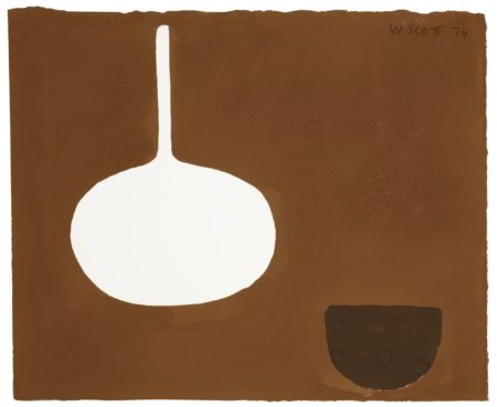 William Scott-Still Life Dark Theme XXII/L-1974