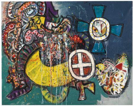Alan Davie-Miraculous Cross-1968