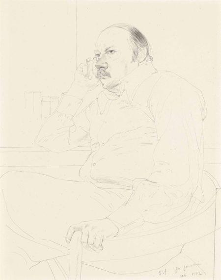 David Hockney-Jonathan Williams-1972