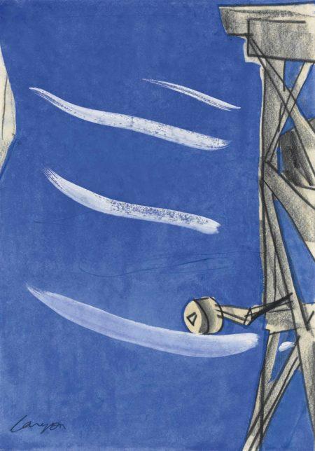 Peter Lanyon-Cornish Tin Mine-