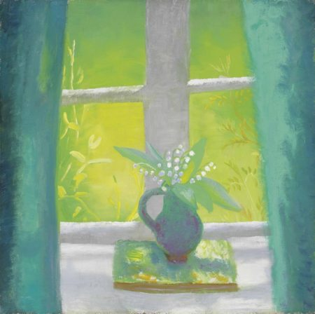 Winifred Nicholson-The South Parlour-1950