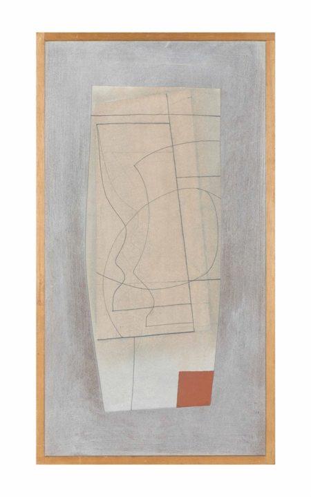 Ben Nicholson-1967-68 (half goblet and red)-1968