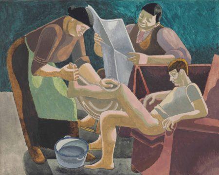 William Roberts-Bath Night-1929