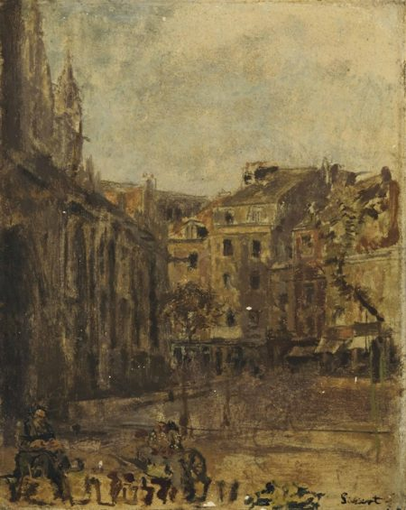 Walter Richard Sickert-St Jacques, Dieppe-1903