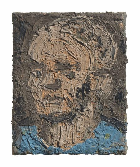 Leon Kossoff-Small Self-Portrait-1981