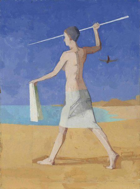 Euan Uglow-Egyptian Spearess-1987