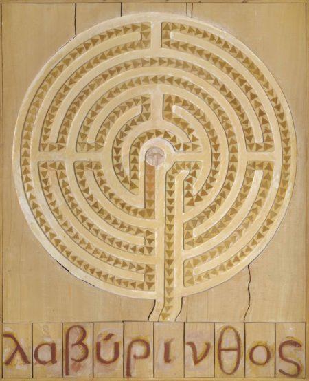 Joe Tilson-Labyrinth Caerdroia-1973