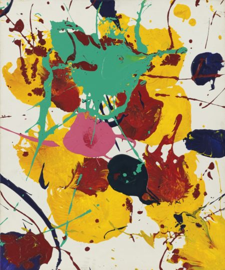 Sam Francis-Faller (Untitled)-1987