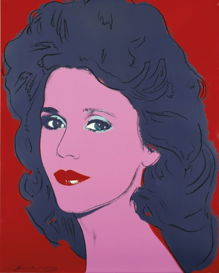 Andy Warhol-Jane Fonda-1982