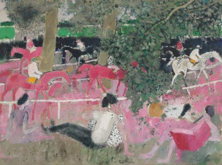Andre Brasilier-Dimanche Aux Courses-1963